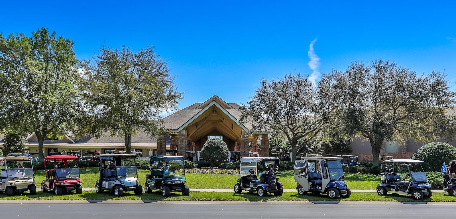Golfing - Golf carts