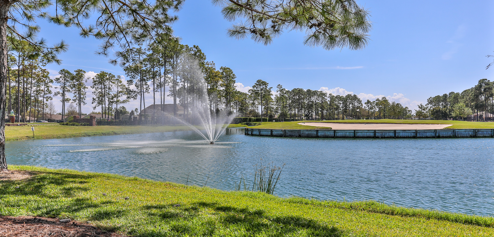 Heritage Pines Club Lake