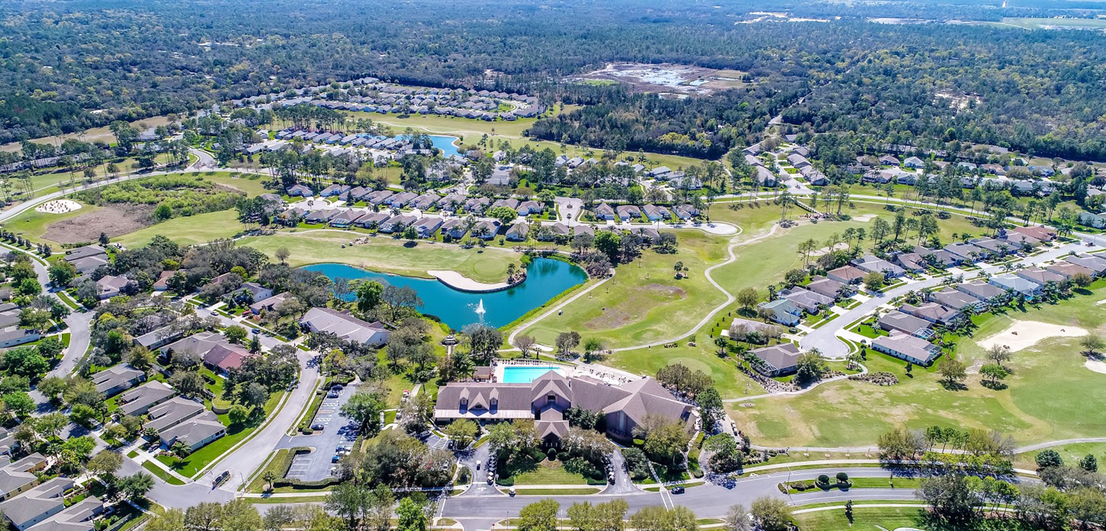 Heritage Pines - Country Club aerial photo