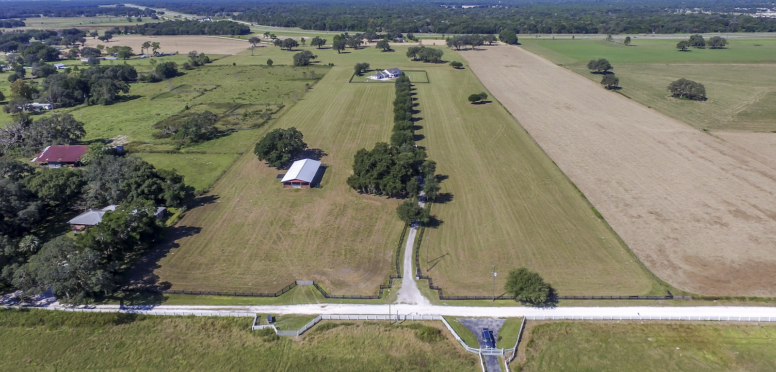 Ranches - aerial photo of a ranch
