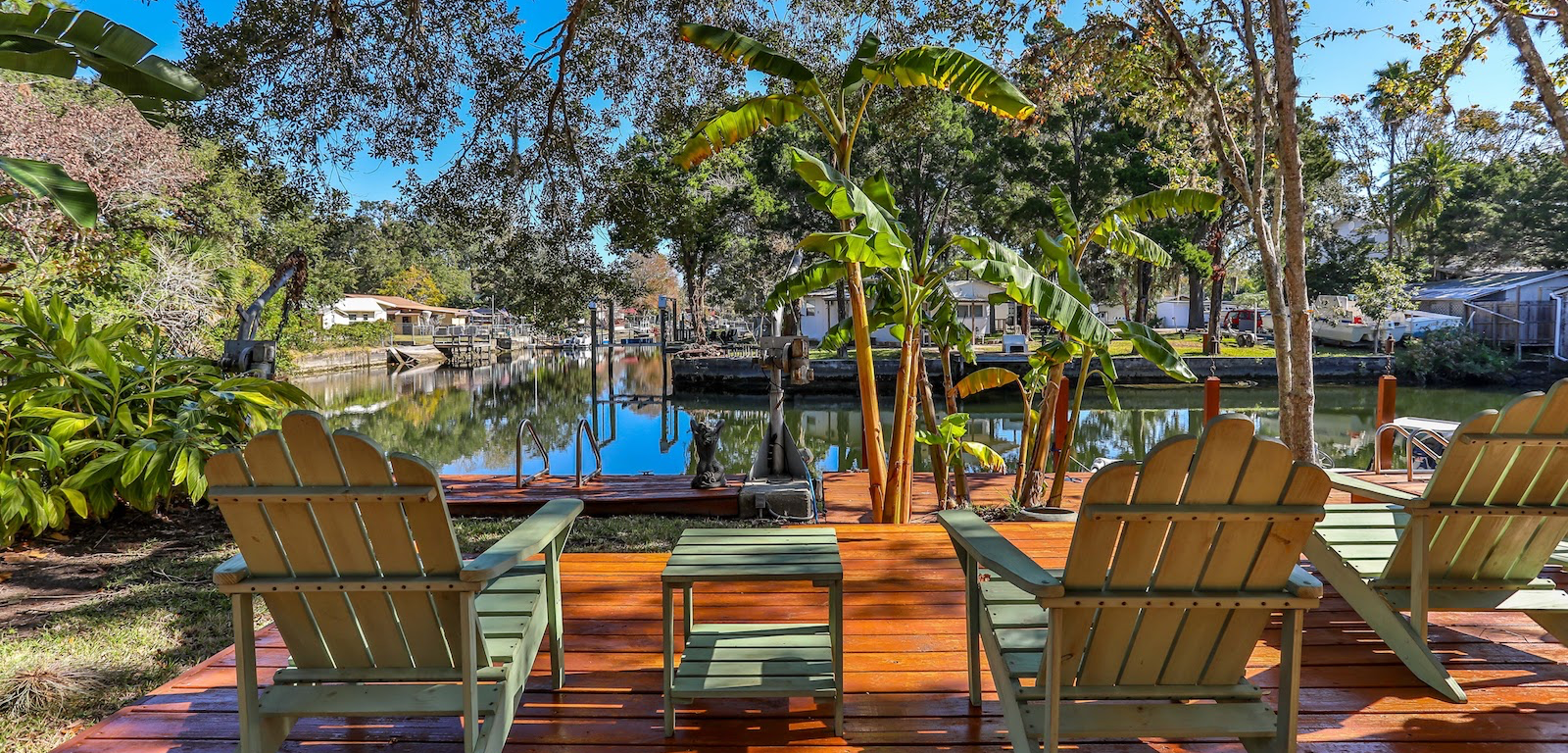 Weeki Wachee - sunbathing chair