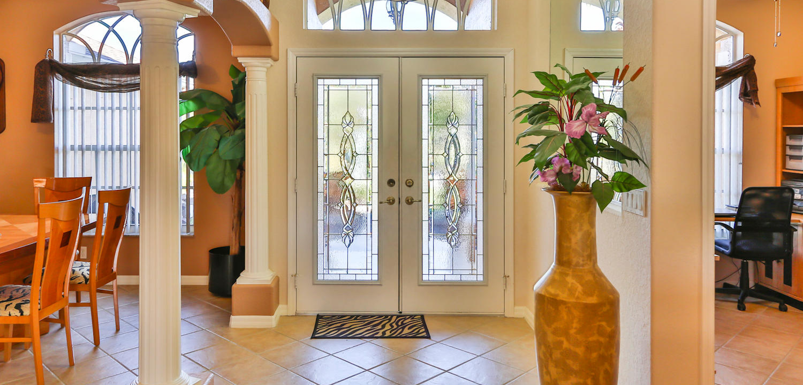 Woodland Waters house entrance door