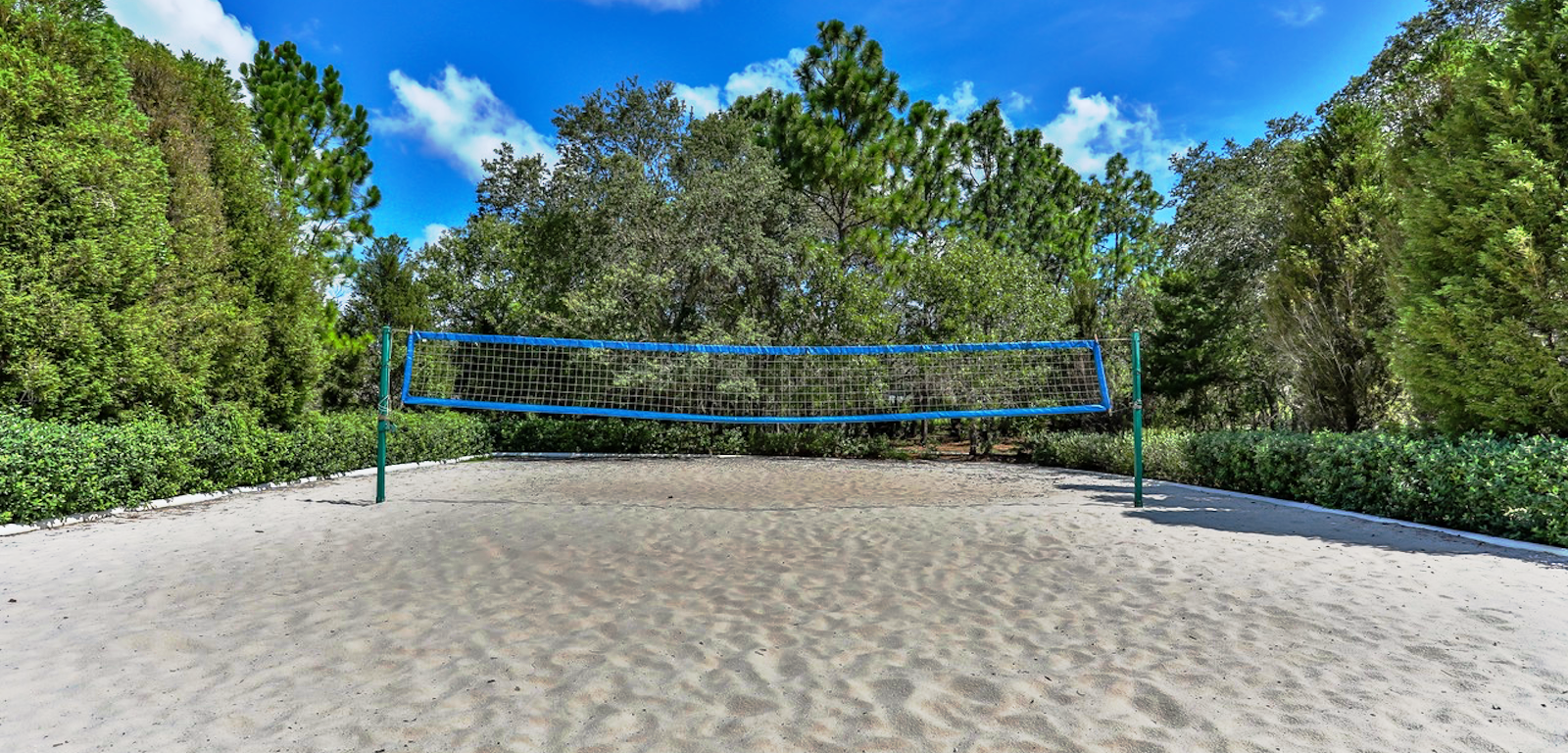 Sterling Hills - volleyball net on the sand